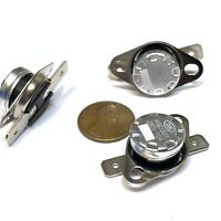 3 Pieces N/C 80ºC 176ºF normally closed Thermal  Thermostat switch KSD301 C26