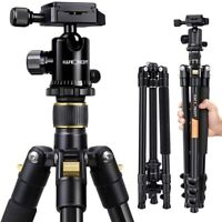 K&F Concept Portable Professional Aluminium Camera Tripod&Ball Head for DSLR SLR