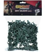 Combat Mission 160Pc Plastic Toy Soldiers Bag of Traditional Green Army Soldiers
