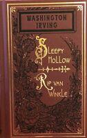 Washington Irving / The Legend of Sleepy Hollow / Rip Van Winkle Limited ed 2020