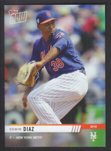 Topps Now Road To Opening Day 2019 - Edwin Diaz - New York Mets PR 306