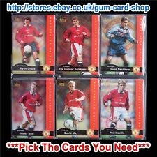 FUTERA - MANCHESTER UNITED 1997  *PICK THE CARDS YOU NEED*