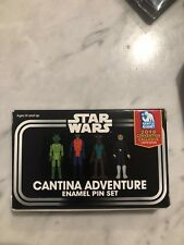 SDCC 2018 GENTLE GIANT EXCLUSIVE STAR WARS CANTINA ADVENTURE ENAMEL PINS - NEW