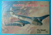 Fly Model 87 - British jet fighter Gloster Meteor Mk III