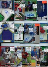 HUGE PREMIUM 1,000 CARD PATCH #'D AUTO ROOKIE BASEBALL COLLECTION LOT LOADED $$