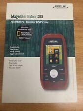 Magellan Triton 300 Handheld GPS Navigator Unit  Waterproof Hiking 21937c14