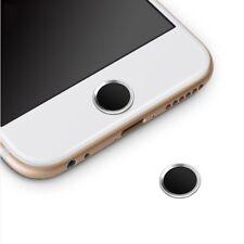 Protector Botón Home Menú para IPHONE 7 / IPHONE 8 Anillo Negro y Plata i98