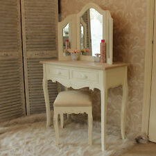 French Country Solid Wood Dressing Table Bedroom Furniture Sets