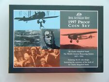1997 Royal Australia Mint Six Coin Proof Set - Sir Charles Kingsford Smith