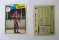 1983-84 OPC O-Pee-Chee #185 Carbonneau Guy  RC Rookie  canadiens
