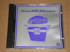 THE BEST OF ACID JAZZ VOL. 3 (VIBRAPHONIC, GOLDBUG, RAW STYLUS) - CD