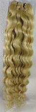 "AAA+ 18""-26"" Remy Curly Deep Weft Human Hair Extensions Weave 100g More Color"