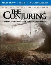 The Conjuring (Blu-ray/DVD, 2013, Includes Digital Copy; UltraViolet) NEW