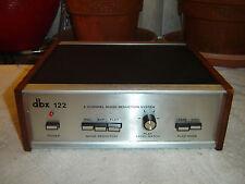 DBX 122, Original Version, 2 Channel Noise Reduction System, Vintage Unit