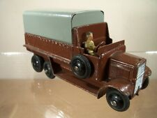 DINKY TOYS No 25s 6-WHEELED COVERED WAGON (V.RARE CIVILIAN VERSION) (NEAR MINT)