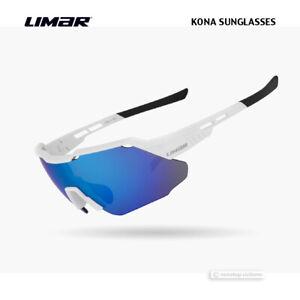 Limar KONA Polycarbonate Cycling Sunglasses : MATTE WHTIE