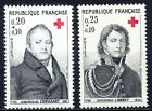 TIMBRE FRANCE N° 1433 / 1434   CROIX ROUGE 1964     NEUF SANS  CHARNIERE