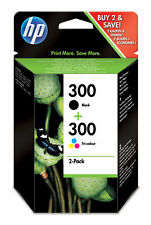 Multipack tinta HP 300 Cn637ee negro tricolor