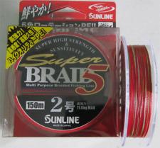 SUNLINE SUPER BRAID 5 PE Braided Line 150 m / 200 m
