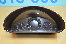 06 W209 MERCEDES BENZ CLK350 SPEEDOMETER ODOMETER CLUSTER GAUGE 2095408911