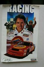 VINTAGE NASCAR DARRELL WALTRIP TIDE CHEVY SUPERFLO POSTER  20 X 28