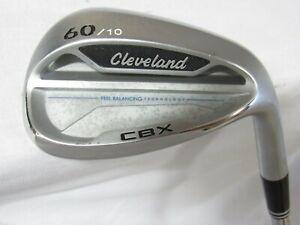 Used RH Cleveland CBX 60.10 Lob Wedge Dynamic Gold 115 Wedge Flex Steel
