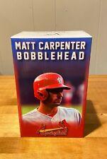 NIB St Louis Cardinals Matt Carpenter Springfield Bobblehead SGA