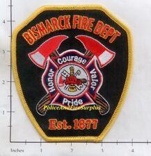 North Dakota - Bismarck ND Fire Dept Patch