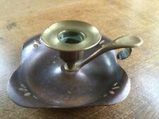 Art Nouveau Candlesticks/Candelabra Collectable Brass Metalware