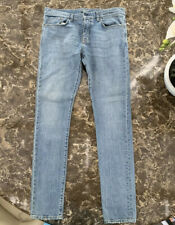 Yves Saint Laurent Jeans Slimfit Size 33 , Blue , Brand New.