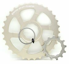 Gearoop Cog Unit 28T+31T w/ CS-R8000 13T Cog for Modifying Shimano 11S Cassette