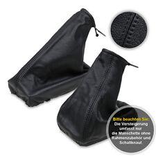 Schaltsack Schaltmanschette + Handbremssack für Opel Corsa C 00-06 schwarz