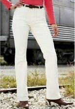 Cotton Tall Mid Rise 34L Trousers for Women