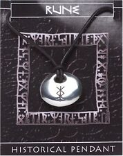 Viking Rune Stone Pendant  -  PROTECTION