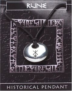 Viking Rune Stone Pendant  -  PROTECTION