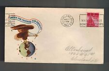1943 Cleveland Ohio USA WWII War Saving Bond Stamps Illustrated Patriotic Cover