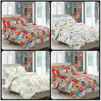 Animal Theme Duvet Cover Pillowcases Durable Quilt Bedding Set In All sizes