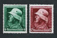 DR Nazi WWII Germany Rare WW2 MNH Stamps1935 Hitler Hero Day WWII Soldier Helmet