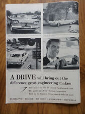 1959 Plymouth Dodge Chrysler Imperial Ad 1959 Marlboro Cigarette Ad Band