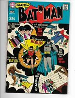 Batman 213 FVF (7.0) 80 Page Giant G-61! Origin: Joker, Clayface, Alfred, Robin!