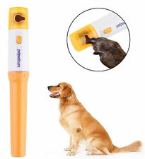 Electric Pet Dog Cat Nail Pedicure Grooming Grinder Trimmer Tools Retail Packed