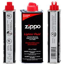Genuine Zippo 4 oz.118ml Lighter Fluid Fuel