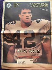 """ NFL Dallas Cowboys Official Weekly Magazine March, 1981; Vol. 7, No. 2"