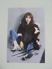 Suzy Bae Miss A 4x6 Photo Korean Actress KPOP autograph hand signed USA Seller C