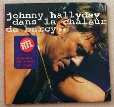 Johnny Hallyday Double 33 Tours Dans la chaleur de Bercy + Coupon Bercy 90
