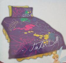 "DISNEY FAIRIES Tinkerbell ""Tink"" BNIP Single Bed Quilt / Doona /Duvet cover"
