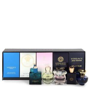 Versace mens gift set Eros, Eros femme, Dylan Blue, Dylan Blue Femme fathers day
