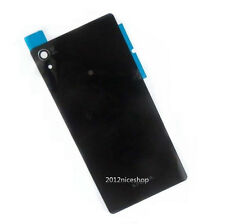 10pcs Black Battery Rear Glass Cover Panel for Sony Xperia Z1 L39h C6903