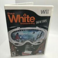 Shaun White Snowboarding Road Trip (Nintendo Wii 2008) COMPLETE Game Manual Case