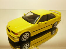 MINICHAMPS BMW 318is E36  4-drs - YELLOW 1:43 - VERY GOOD CONDITION